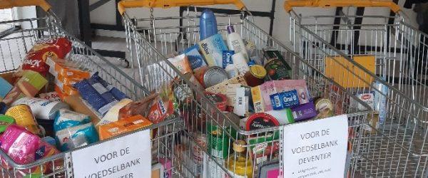 Inzameling voor de Voedselbank